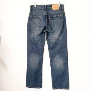 Levi's 16 Reg 28/28 Straight Leg Dark Wash Jeans